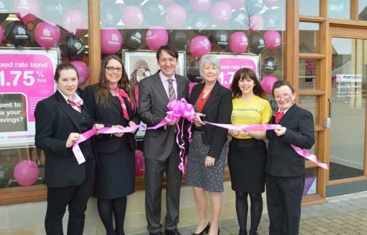 Marsden Building Society opens new branch in Garstang