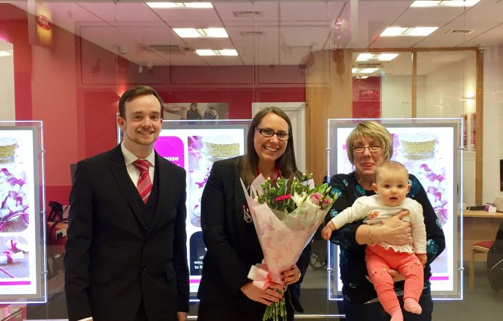 200th member welcomed to the Marsden branch in Poulton