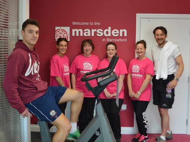 """Tour de Marsden"" raises over £500 for Pendle Headway charity"