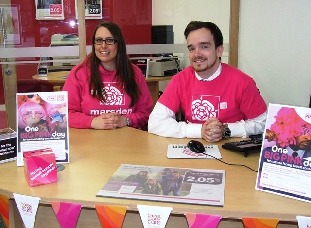 Marsden staff and members raise £250 for Breast Cancer Care