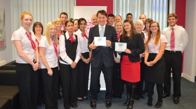 Marsden Building Society Awarded for Customer Service