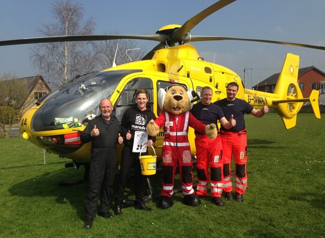 North West Air Ambulance joins Marsden Building Society's Fundraising Day