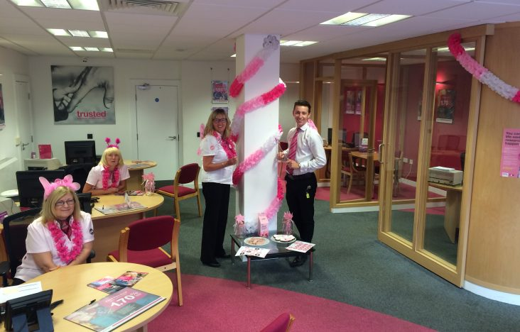 Our Wear It Pink Day Donation