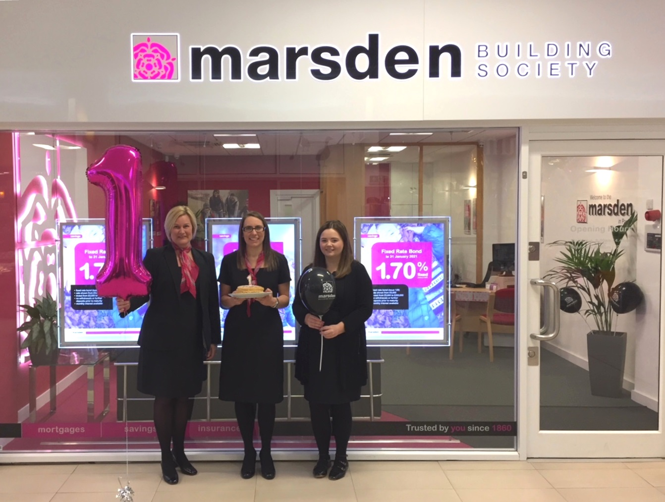 Birthday celebrations for the Marsden! | Poulton Branch