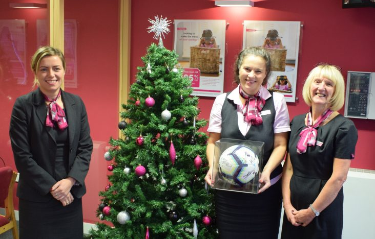 Win a signed Burnley Football Club ball just in time for Christmas!