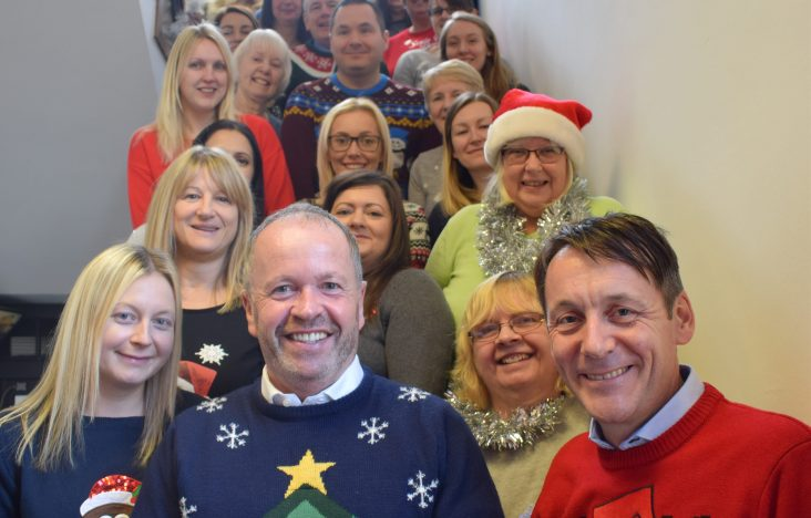 Marsden wear winter woollies in aid of Save The Children