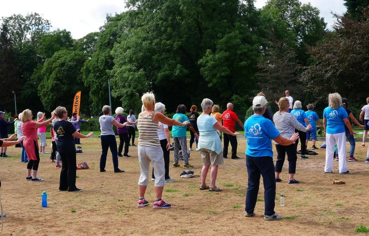 Marsden Building Society proudly sponsors Lighthouse Tai Chi in the Park