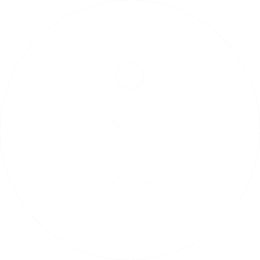 White 'notice' icon on a transparent background.